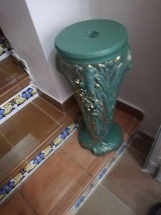 Peana cerámica.