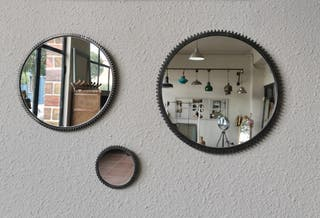 espejos hierro fundido
