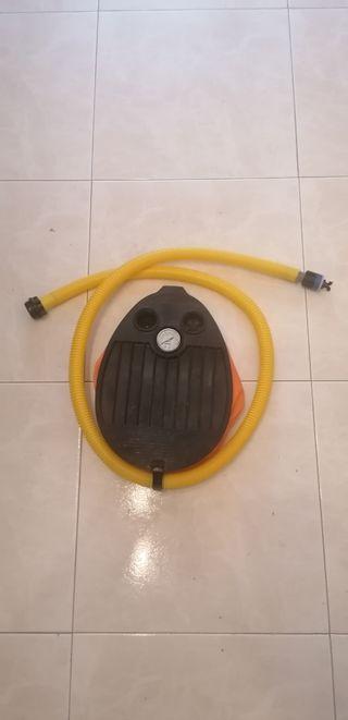 hinchador neumatica/kayak/padel, usado 2 veces.