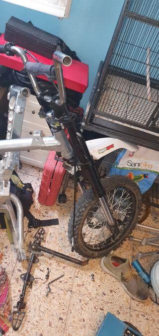 horquilla pit bike
