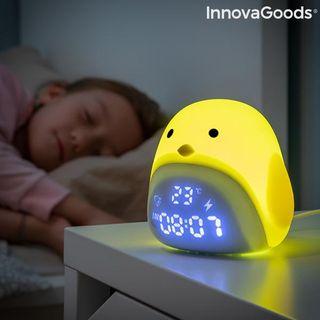 Despertador LED Táctil Recargable de Silicona