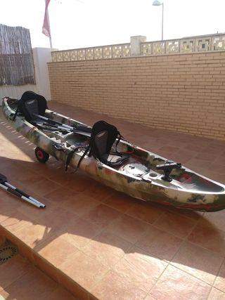 Kayak doble.