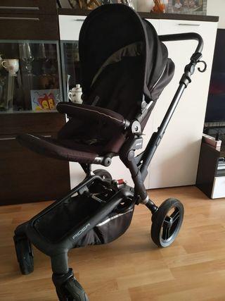 carro bebé jané rider+saco+ bolso