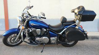 Moto VN 900 como nueva
