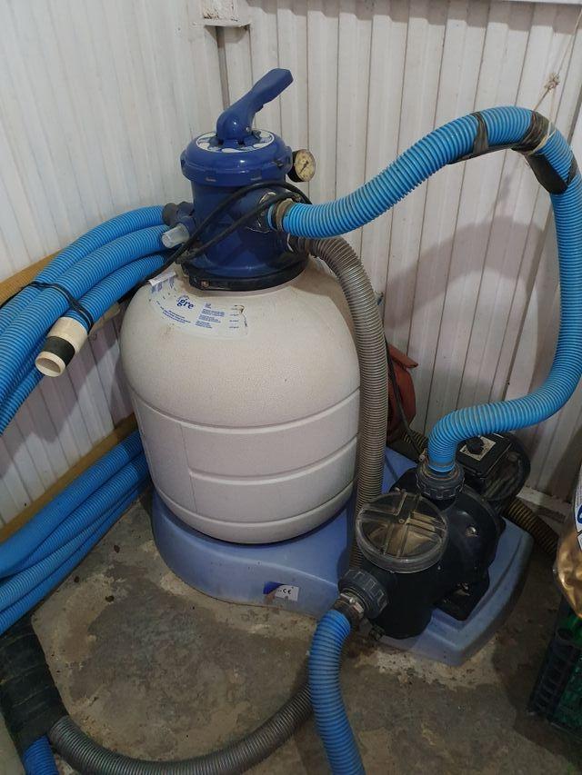 Sistema Completo Filtración arena Gres