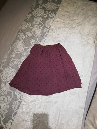 falda alta