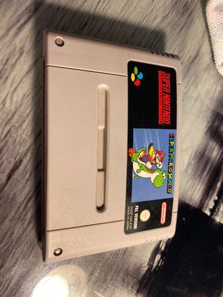 Súper Mario world súper Nintendo