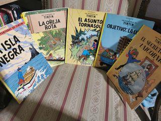 Las aventuras de tintin lote 5 comic tapa blanda