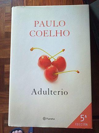 """LIBRO:""""ADULTERIO"""" DE PAULO COELHO"""