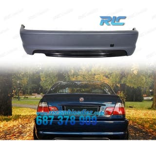 PARAGOLPES TRASERO BMW E46 98-06 PACK M