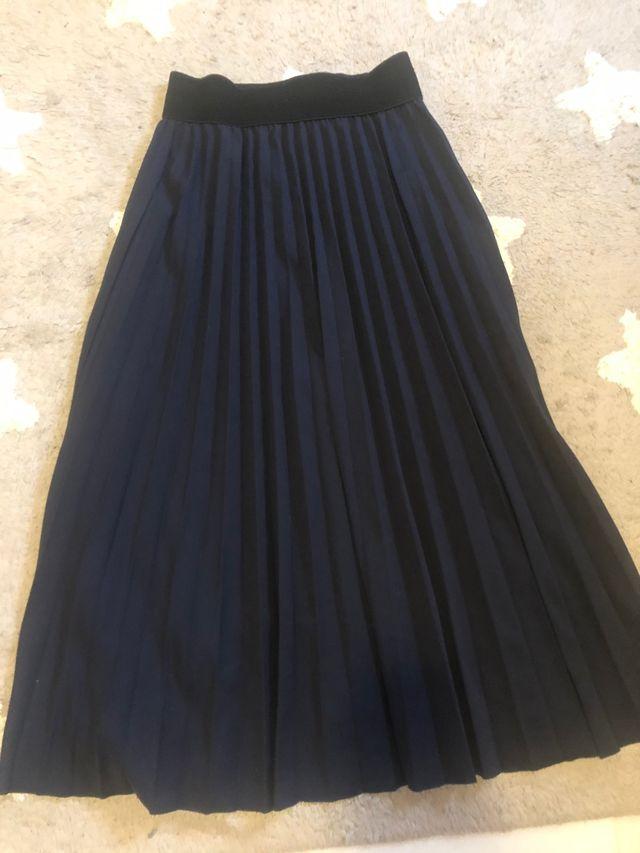 Conjunto falda plisada