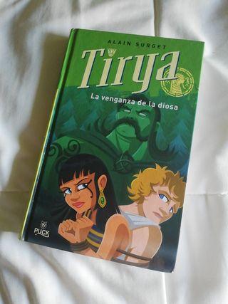 Libro: Tirya. La venganza de la diosa