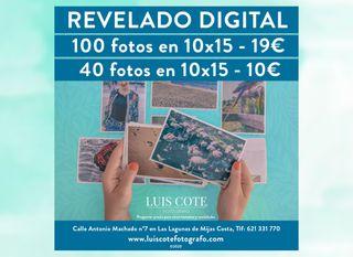 ¡¡OFERTA DE REVELADO DE FOTOS!!
