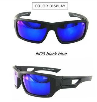 Gafas de sol deportivas lentes polarizadas