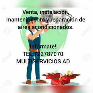 Reparación e instalación de aires acondicionados