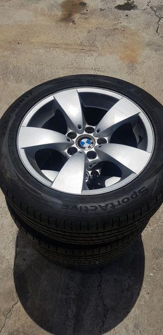 """llantas 17"""" bmw con neumáticos nuevos"""