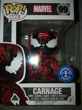 Funko pop carnage exclusivo