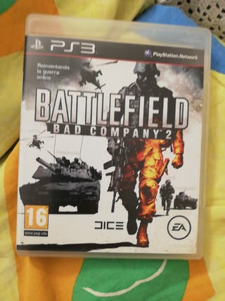 juego ps3 Battle Field