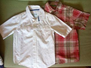 2 Camisa niño manga corta