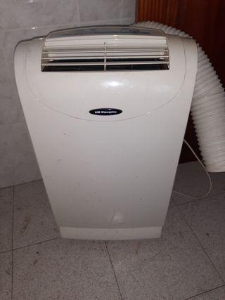 Consola portátil de aire y bomba de calor