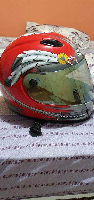 casco niño talla xs marushin 777 samurái ,casco g