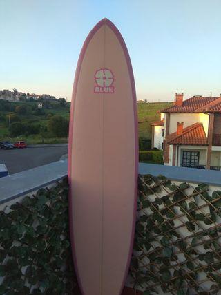 "Tabla surf evolutiva 6'10"" + funda + invento + ..."