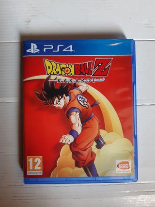 Juego PS4 Dragon Ball Z Kakarot