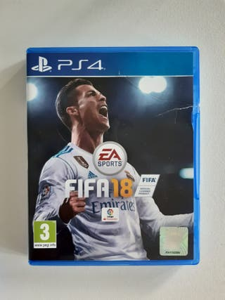 Juego PS4 FIFA18