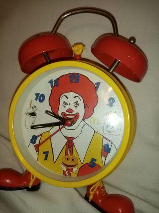 Reloj despertador Macdonald