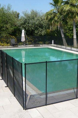 Valla para la piscina