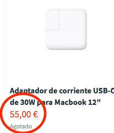 Cargador Original MacBook Retina 12 iPhone NUEVO