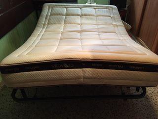 Cama articulada con colchón viscolástica Vida 10