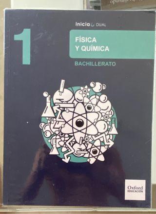 Libro de Física y Química( 1 de bachillerato)