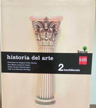 Libro de Historia del arte( 2 de bachillerato)