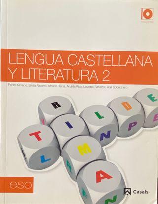 Libro de Lengua castellana (2 de bachillerato)