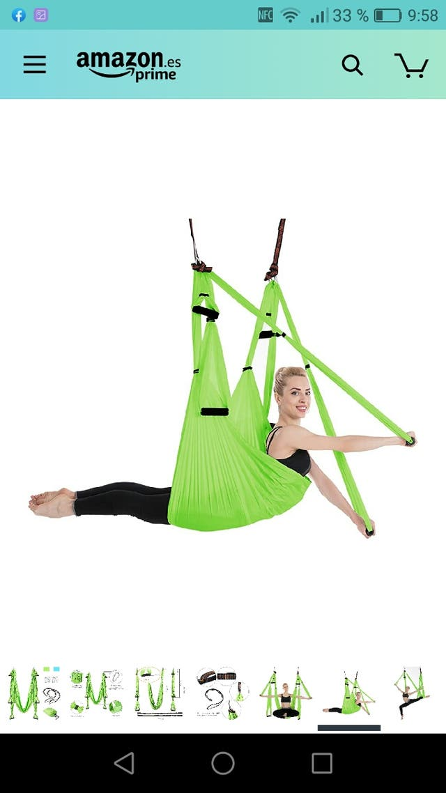 Hamaca yoga/pilates
