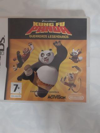 juego nintendo ds kung fu panda