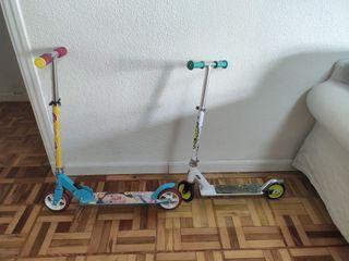 Dos patinetes