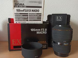 Objetivo Sigma 105mm