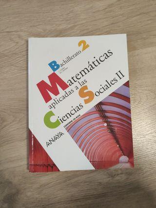 matematicas 2 bachillerato anaya