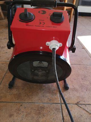 calefactor cañón