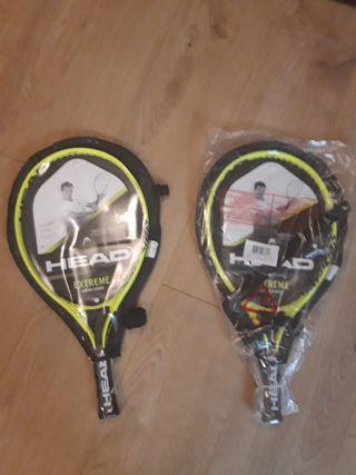 raquetas de tenis junior