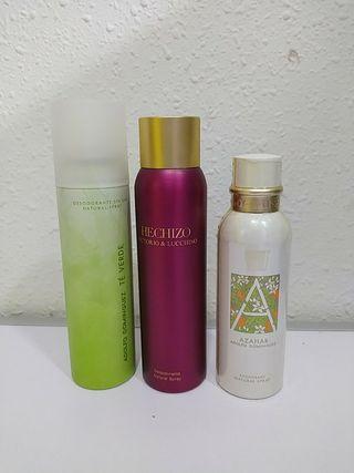 Desodorantes marcas mujer