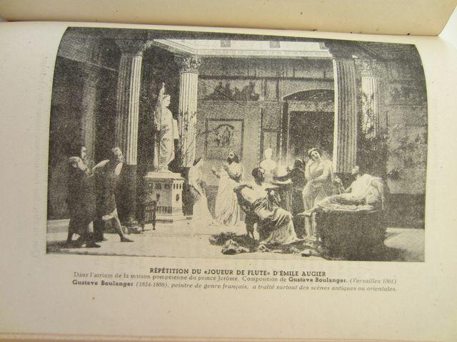 libro antiguo en piel de literatura ilustrada 1944