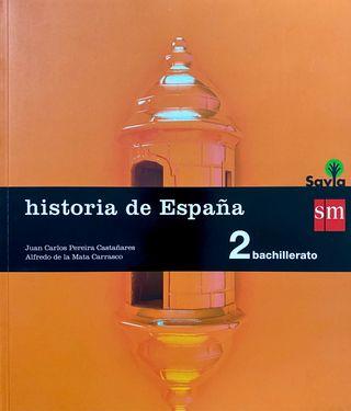 Libro de Historia de España(2 de Bachillerato)