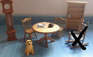 Salon de estar Casa de muñecas