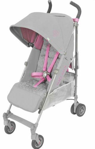 Silla de paseo maclaren quest rosa/gris NUEVA