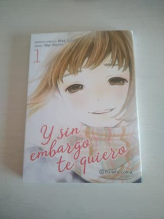 "Manga ""Y sin embargo te quiero"""