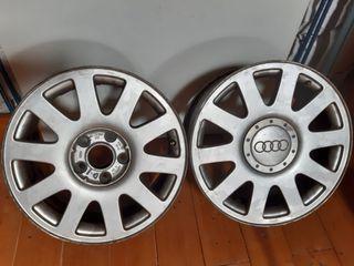Llantas (2) Audi para rueda 205/55/16