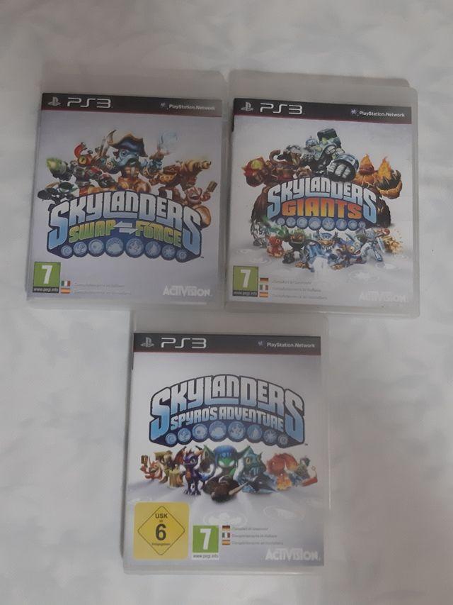 juego playstation ps3 skylanders 3 juegos